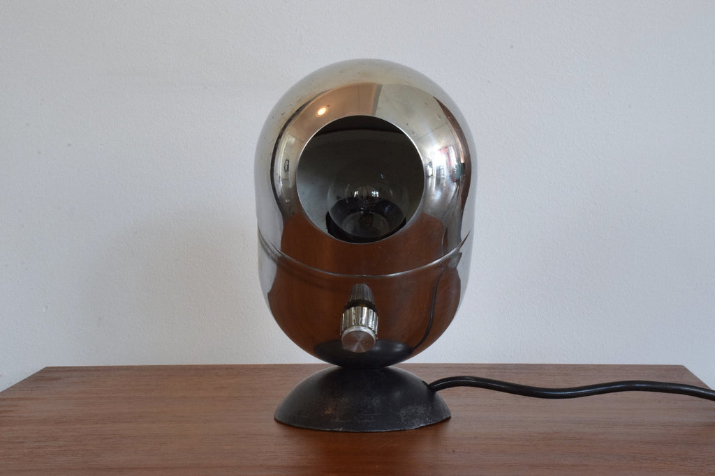 Shop Italian Vintage Chrome Lamp for Arteluce, 1960's - Spirit Gallery