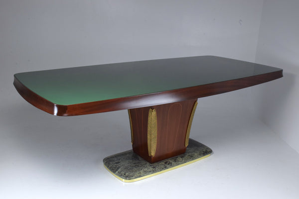 Shop Italian Vintage Mid-Century Dining Table by Vittorio Dassi, 1940-1950's - Spirit Gallery