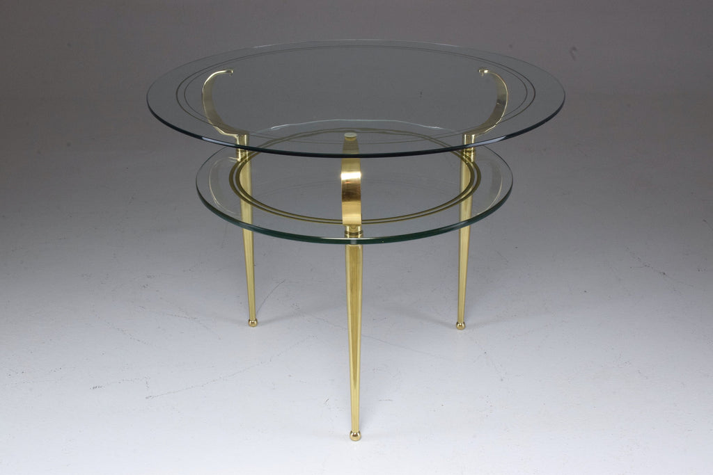 Shop Italian Vintage Two Tier Coffee Table by Cesare Lacca, 1950s - Spirit Gallery