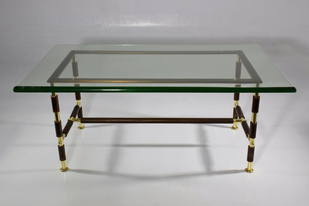 Mid-Century Coffee Table by Max Ingrand for Fontana Arte, 1955 - Spirit Gallery