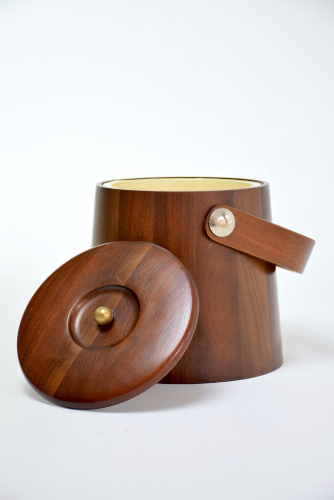 Shop Mid-Century Danish Teak Ice Bucket, 1960s - Spirit Gallery
