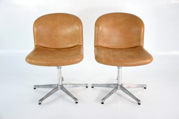 Mid-Century Ico Parisi Desk Chairs for MIM, Italy, 1950s - Spirit Gallery