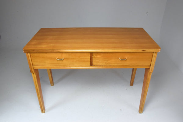 Mid-Century Italian Cherry Desk In the Style of Ico Parisi 1950's - Spirit Gallery
