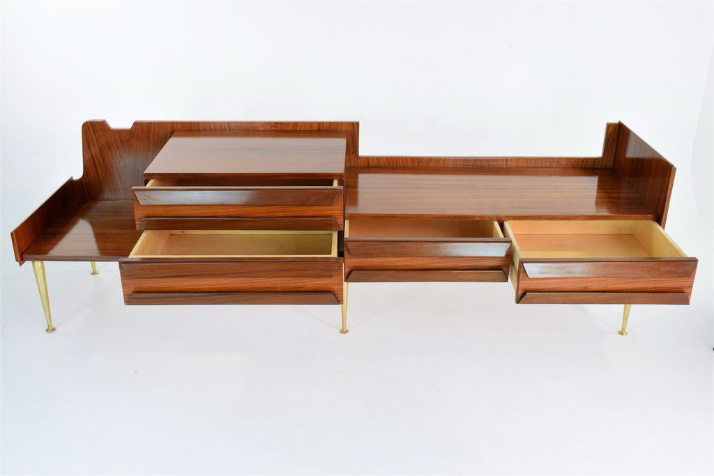 Shop Mid-Century Italian Rosewood Dressing Table - Spirit Gallery
