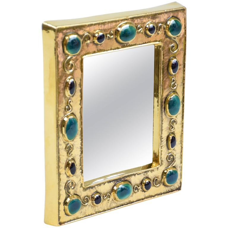 "Mid-Century ""Jewels Mirror"" by Francois Lembo - Spirit Gallery"