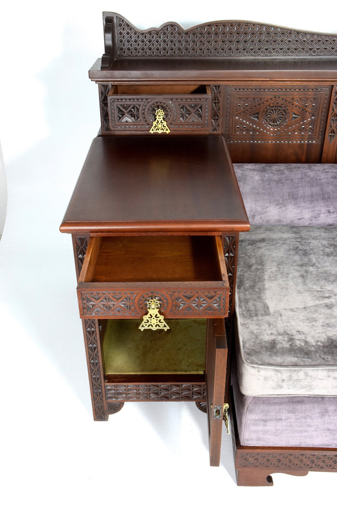 Shop Moorish Sofa and Side Tables by J.Grusso, 1930s - Spirit Gallery