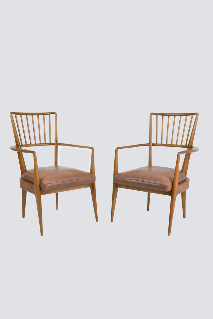 Pair of Danish Mid-Century Armchairs - Spirit Gallery