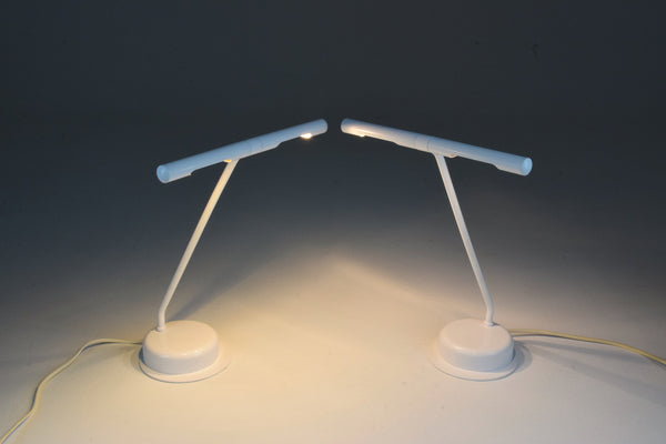 Shop Pair of French Vintage Rotatable Desk Lamps, 1970's - Spirit Gallery