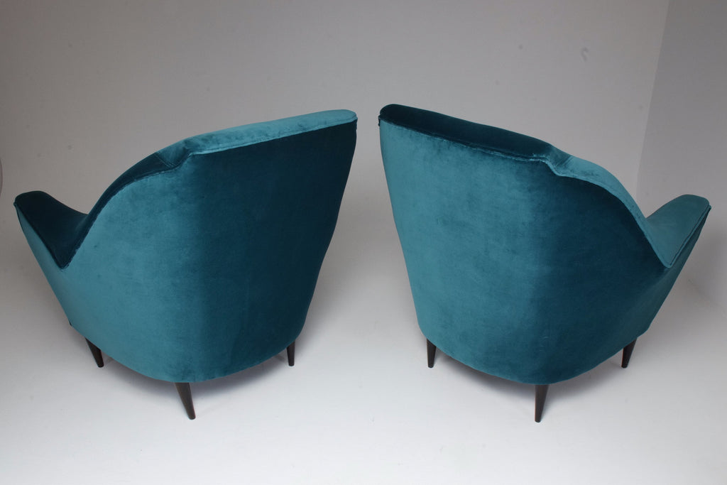 Shop Pair of Italian 20th Century Armchairs by Ico Parisi, 1950s - Spirit Gallery