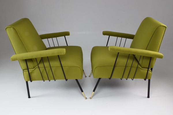 Shop Pair of Italian Armchairs, 1950's - Spirit Gallery