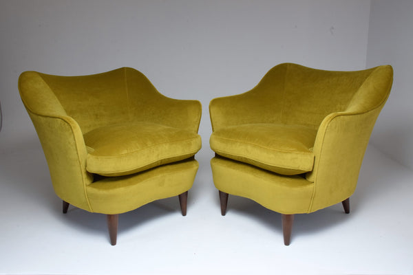 Shop Pair of Italian Armchairs by Gio Ponti for Casa e Giardino, 1930s - Spirit Gallery