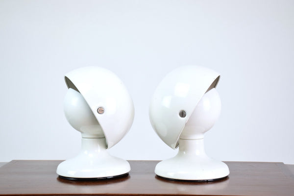 Shop Pair of Jucker Desk Lamps by Tobia Scarpa for Flos, Italy, 1960's - Spirit Gallery