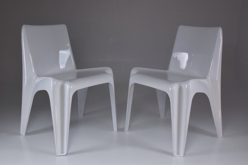 Shop Pair of Mid-Century BA1171 Chairs by Helmut Bätzner, 1960's - Spirit Gallery
