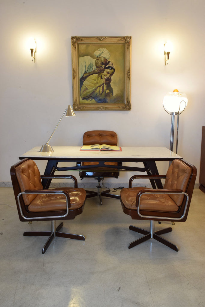 Pair Of Mid Century Modern Office Chairs By Ag Barcelona 1970 S Spirit Gallery