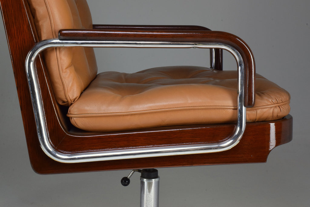Pair of Mid-Century Modern Office Chairs by AG Barcelona, 1970's - Spirit Gallery