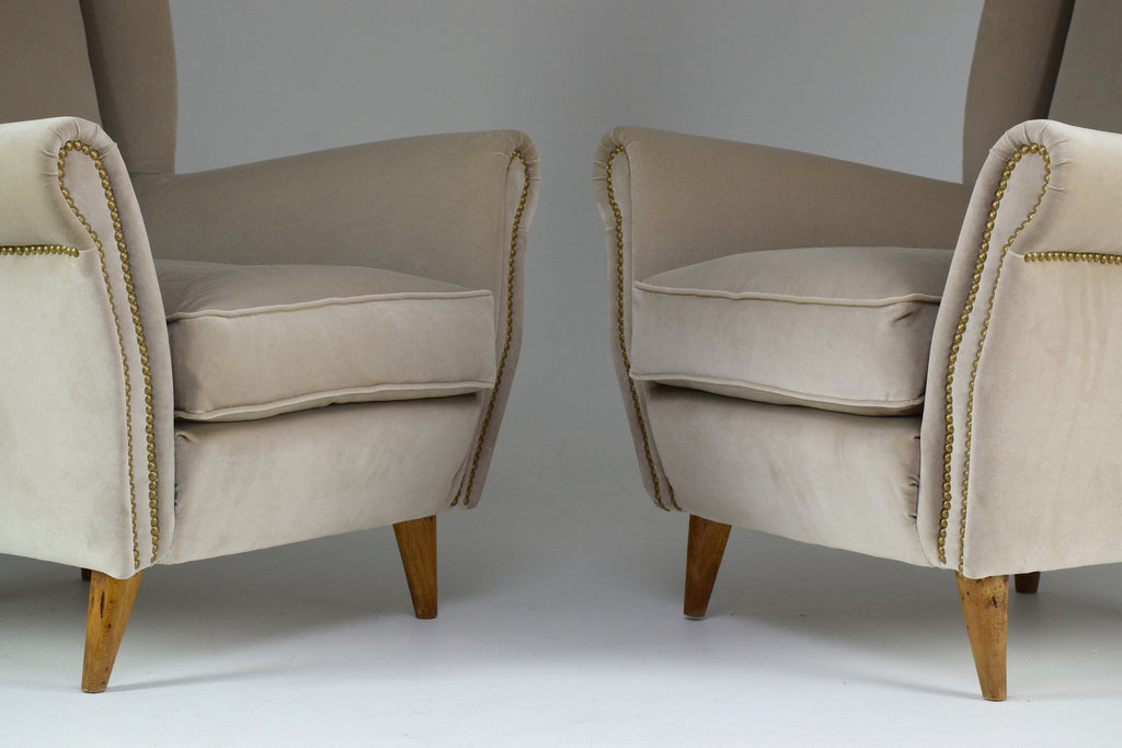 Pair of Vintage Amrchairs by Gio Ponti, 1940's - Spirit Gallery