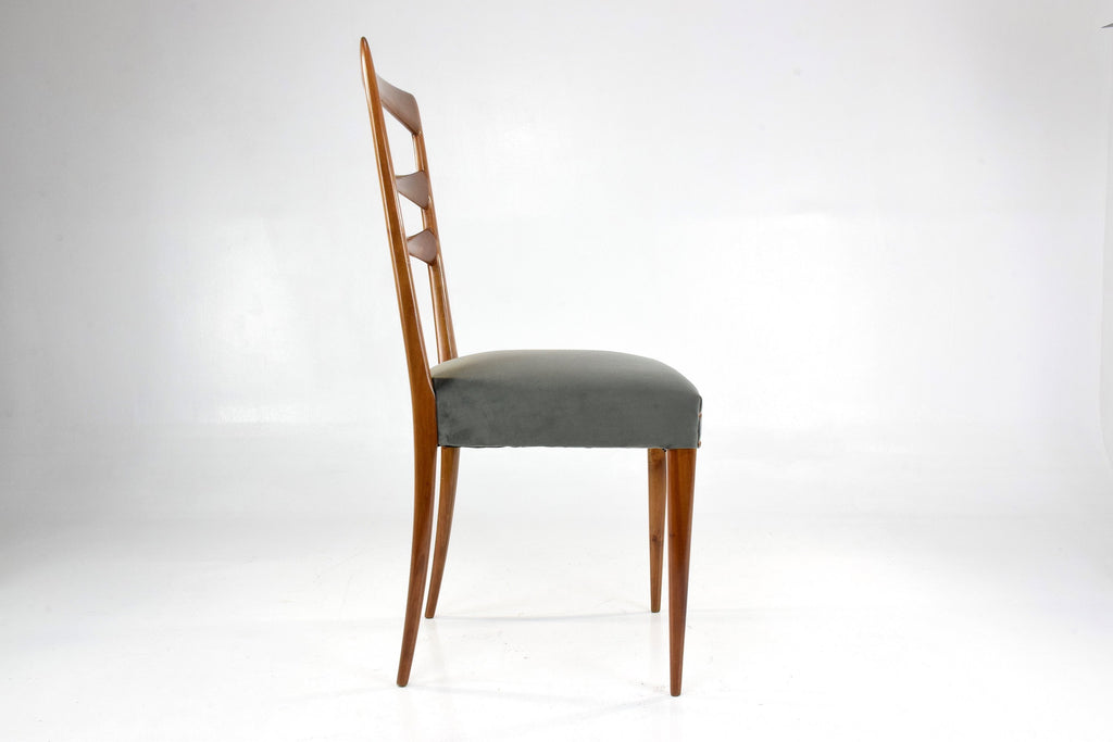 Shop Paolo Buffa Style Italian Dining Chairs, 1950's, Set of 6 - Spirit Gallery