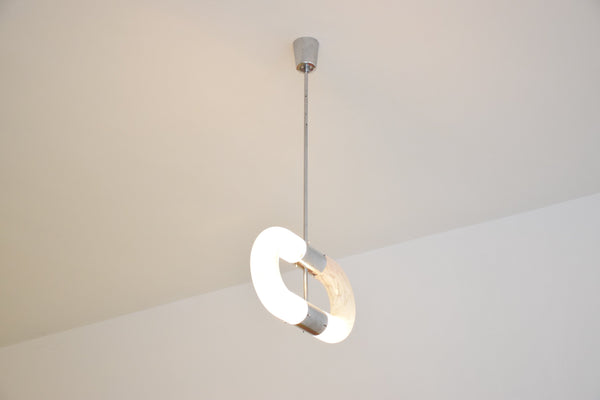 Pendant Murano Light by Aldo Nason for Mazzega, Italy, 1960's - Spirit Gallery