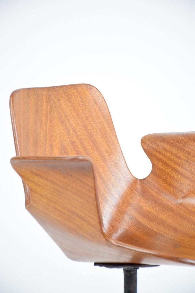 Shop Rare Vittorio Nobili Office Chair for Fratelli Tagliabue, Italy, 1950's - Spirit Gallery