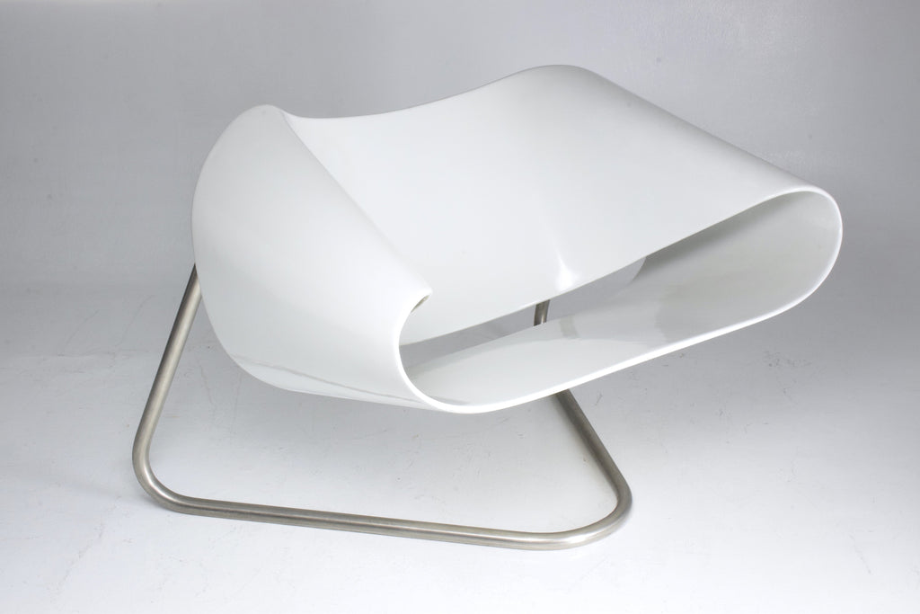 Shop Ribbon Chair by Cesare Leonardi and Franca Stagi for Bernini, Italy, 1961 - Spirit Gallery