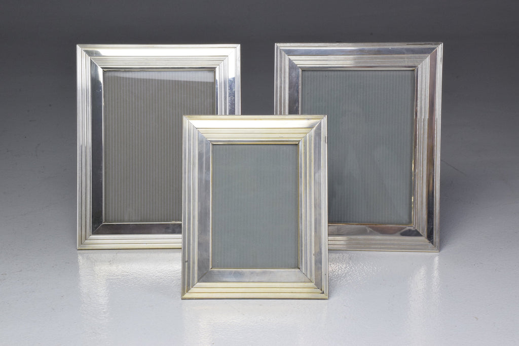Shop Set of Three Vintage Silver Christofle Frames - Spirit Gallery
