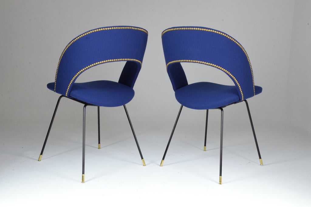 Set of Two Italian Chairs by Gastone Rinaldi for Rima, 1950's - Spirit Gallery