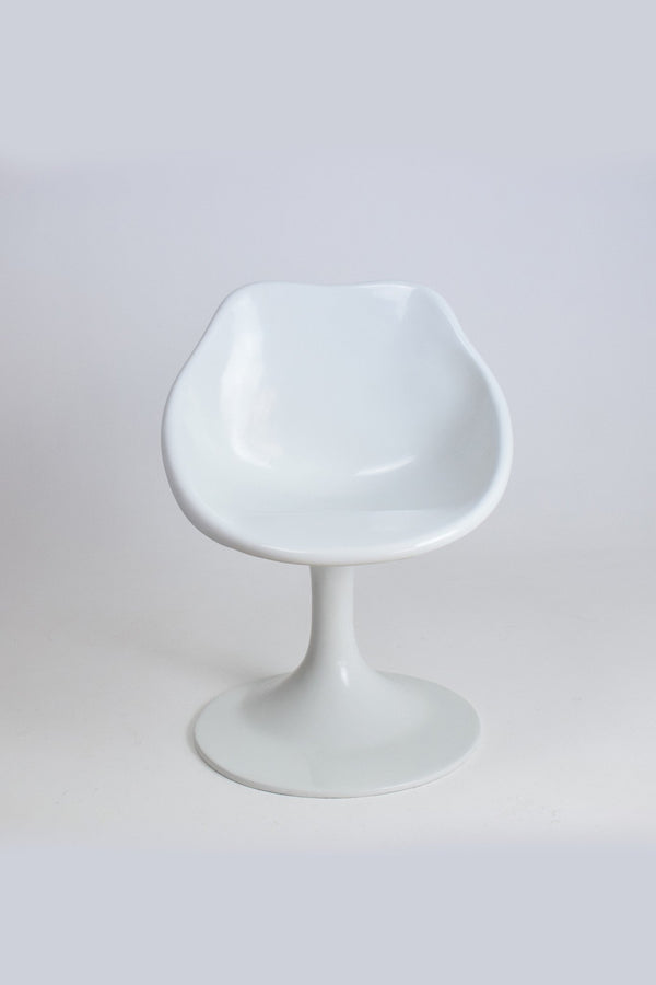 Shop Unique White Fiberglass Space Age Chair, 1970's - Spirit Gallery