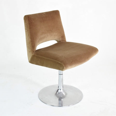 Shop Velvet Tulip Chair, France, 1970's - Spirit Gallery