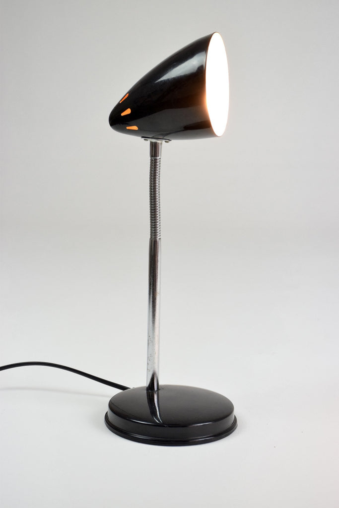 Vintage Articulating Black Desk Lamp, 1960's - Spirit Gallery