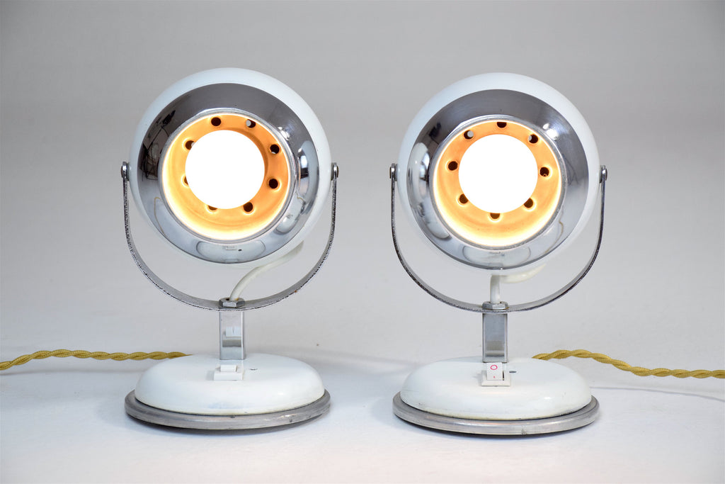 Shop Vintage Eyeball Lamps, 1970s, Set of 2 - Spirit Gallery