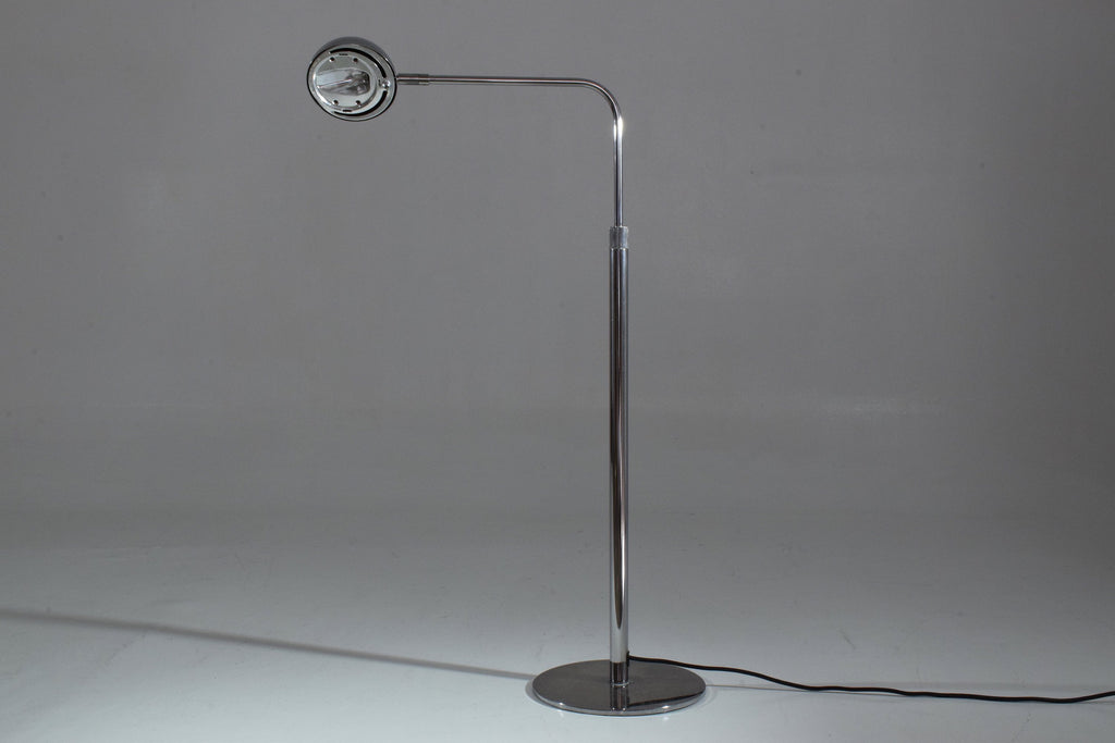 Vintage Height Adjustable Chrome Floor Lamp, 1980-1990 - Spirit Gallery