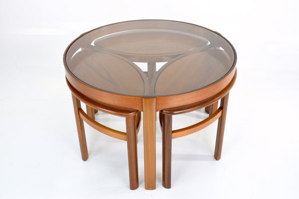 Shop Vintage Mid-Century Nesting Coffee Table by Nathan, 1960's - Spirit Gallery