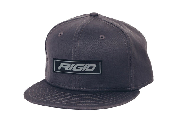 HAT FLAT BILL RIGID PATCH GREY