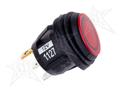 2 POSITION ROCKER SWITCH RED