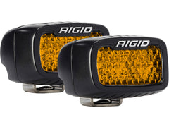 SR-M SERIES DIFFUSED REAR FACING HIGH/LOW SM AMBER SET OF 2