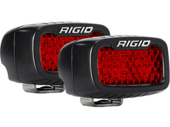 SR-M SERIES DIFFUSED REAR FACING HIGH/LOW SM RED SET OF 2