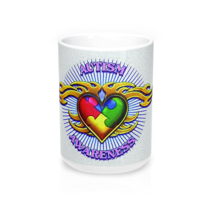 Mug - Autism Awareness Tattoo Design Mug