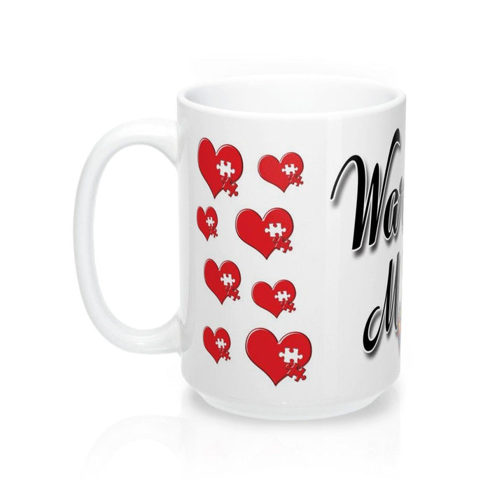 Mug - Full Color Autism Warrior Mom Mug