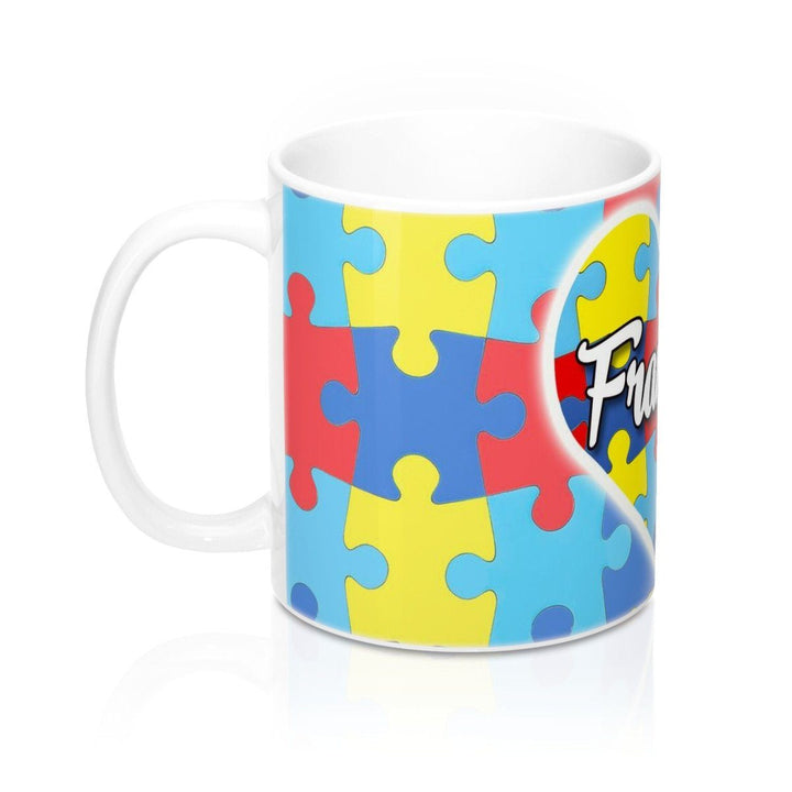 Mug - Personalized Autism Awareness Heart Mug