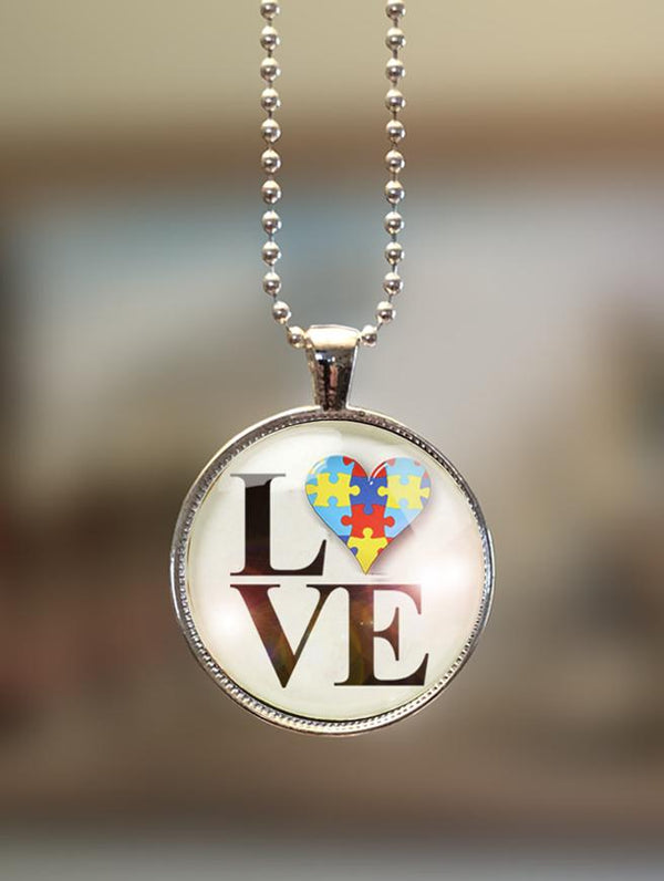 "1"" or 1.5"" Modern ""Philly Love"" Pendant"