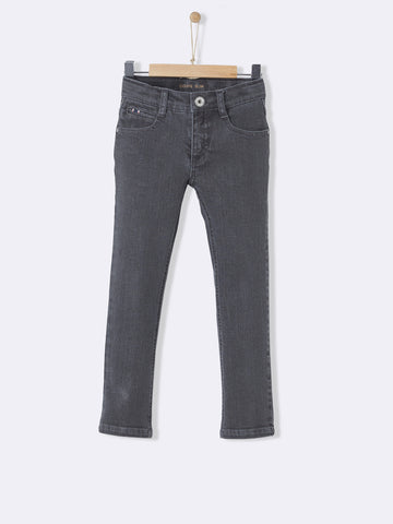 Slim Grey Denim Jeans