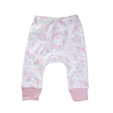 Pink Galaxy Bear Pants