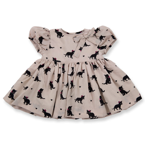 Beige Cat Lili Dress