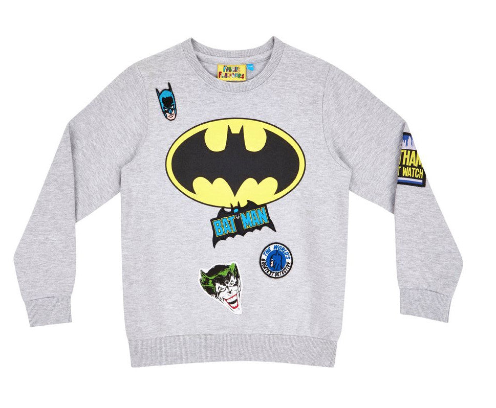 e4eb4b99bb4 Batman Grey Sweatshirt | Little Giant Edit: Stylish, affordable luxury kids  clothing – littlegiantedit