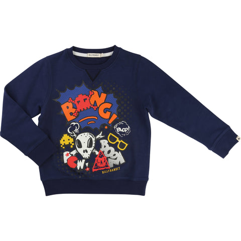Navy BANG Sweater
