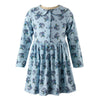 Blue Heart Daisy Dress