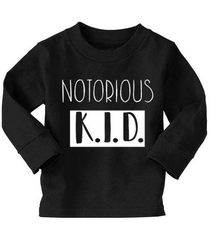 Notorious K.I.D Long-Sleeved tee