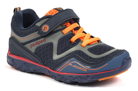 Night Blue Orange Shoes- Gehrig