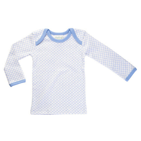 Blue Long-Sleeved Tee
