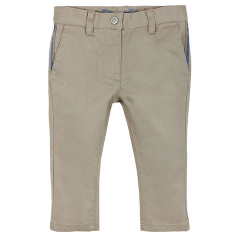 Preppy Beige Trousers